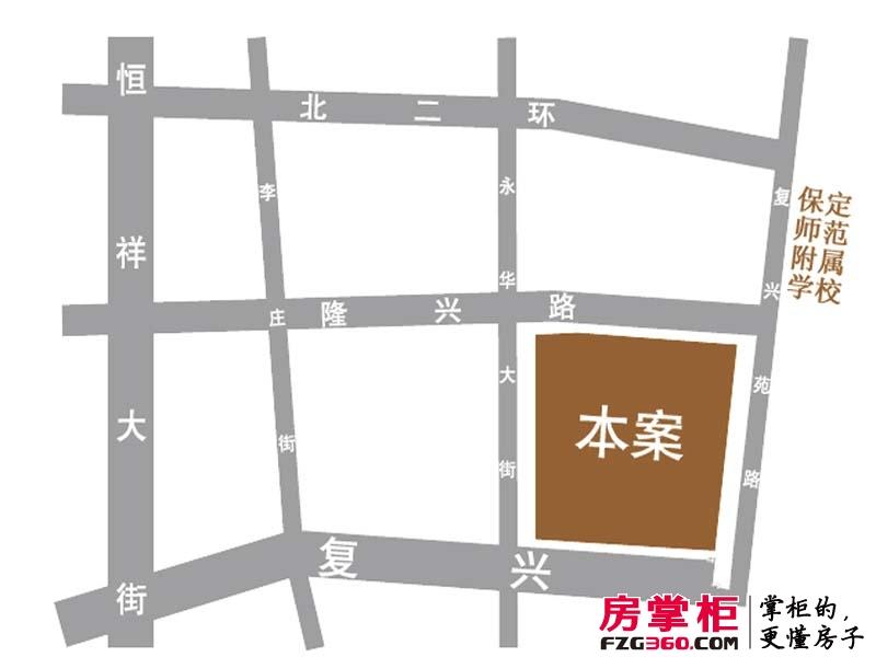 京南一品交通图区位图