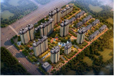 王府壹号总占地100亩 项目规划建设1074户