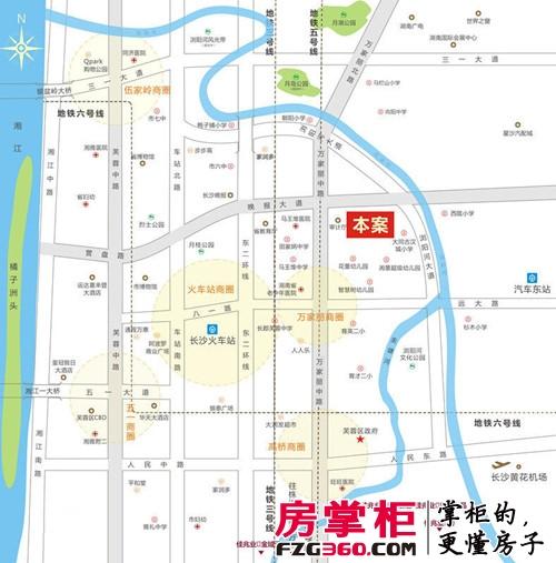 佳兆业时代广场区位图