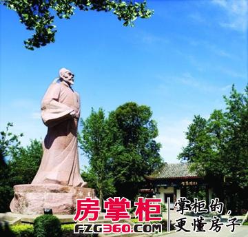 花炮演艺广场,文化雕塑