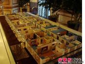 万达广场实景图售楼处内楼体模型(2012.11.18)