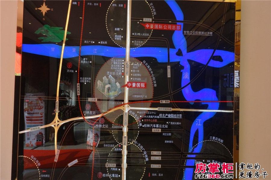 中豪国际区位图