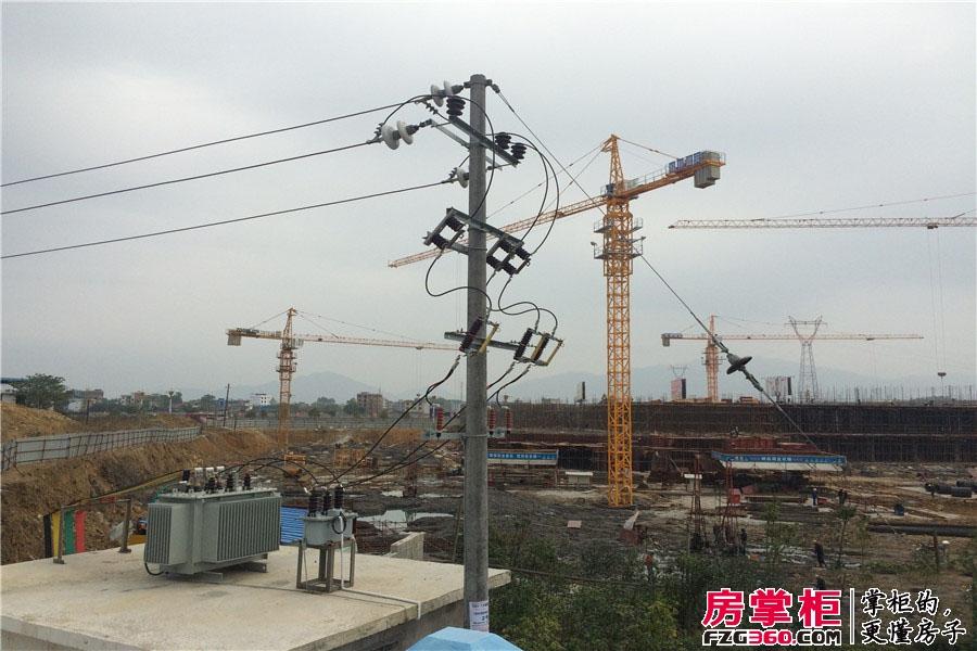 中豪国际一期工程进度(2014-11-26)