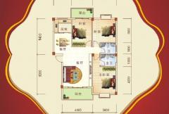 盛祥现代城25#楼A户型 3室2厅2卫1厨