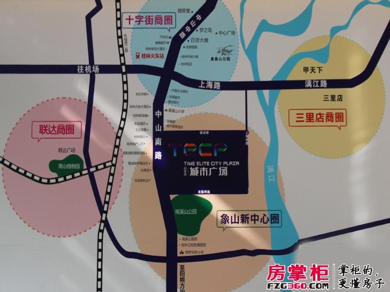 百年荟城市广场区位图