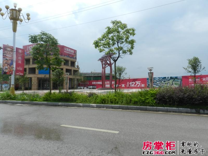 雁山新城营销中心正面(2014-06)