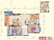 润鸿水尚B6 2室2厅1卫1厨