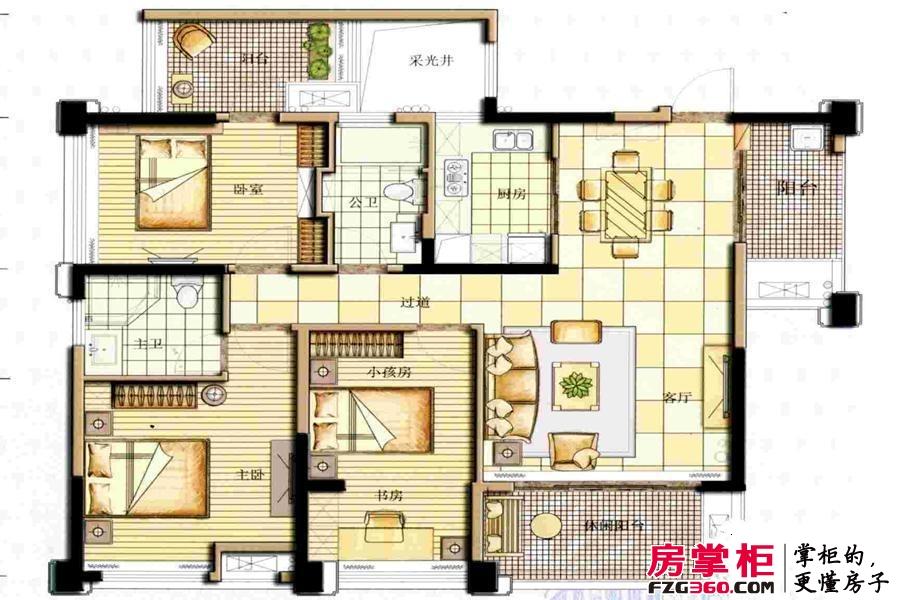 兴汇城3期11#13#4房2厅2卫