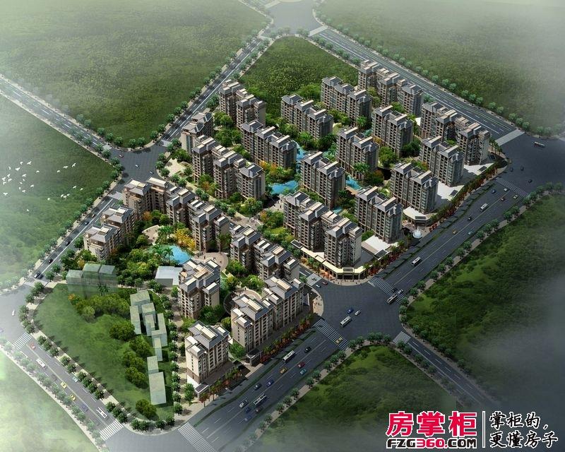 中海元居鸟瞰l图(2011.08.19)