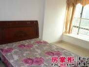房间环境优美,中间楼层采光好,里面有简单的床,衣柜,空调等等