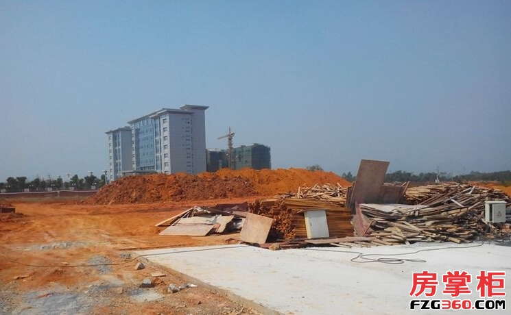 雁山新城实景图