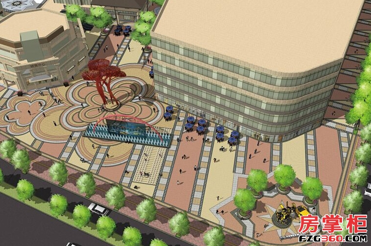 雁山新城效果图