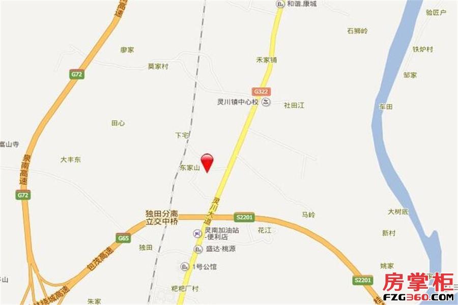 中豪国际交通图