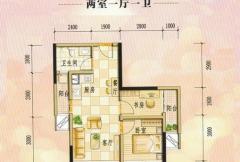 兴荣郡公寓A3户型
