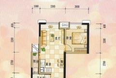 兴荣郡公寓A2户型
