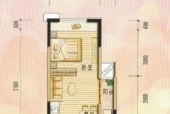 兴荣郡公寓A1户型