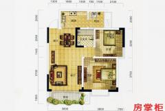 万象城益佳苑5期16栋17栋标准层D户型