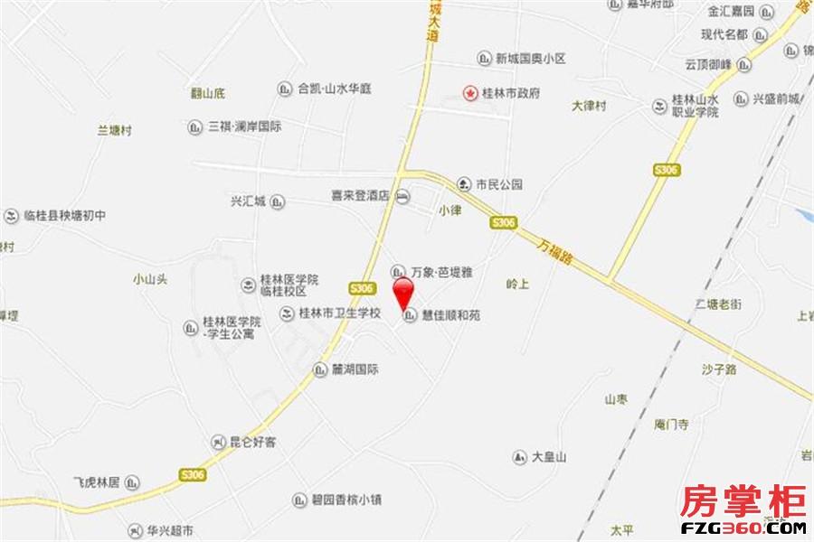兴汇城交通图