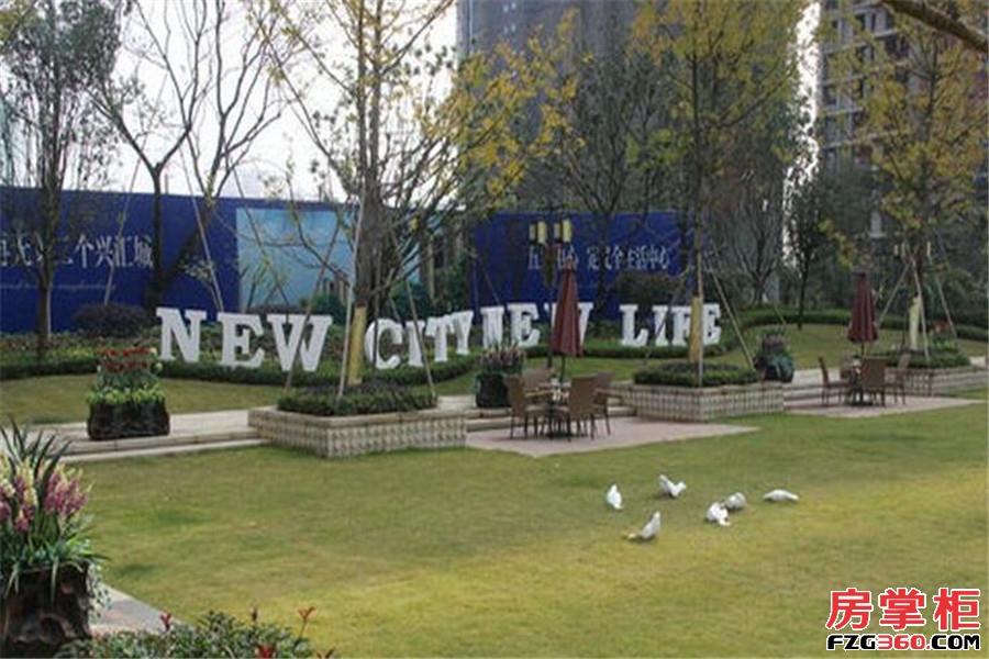 兴汇城实景图