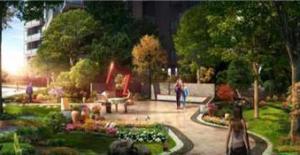 中糖大城小院采用现代建筑风格 购房享97折