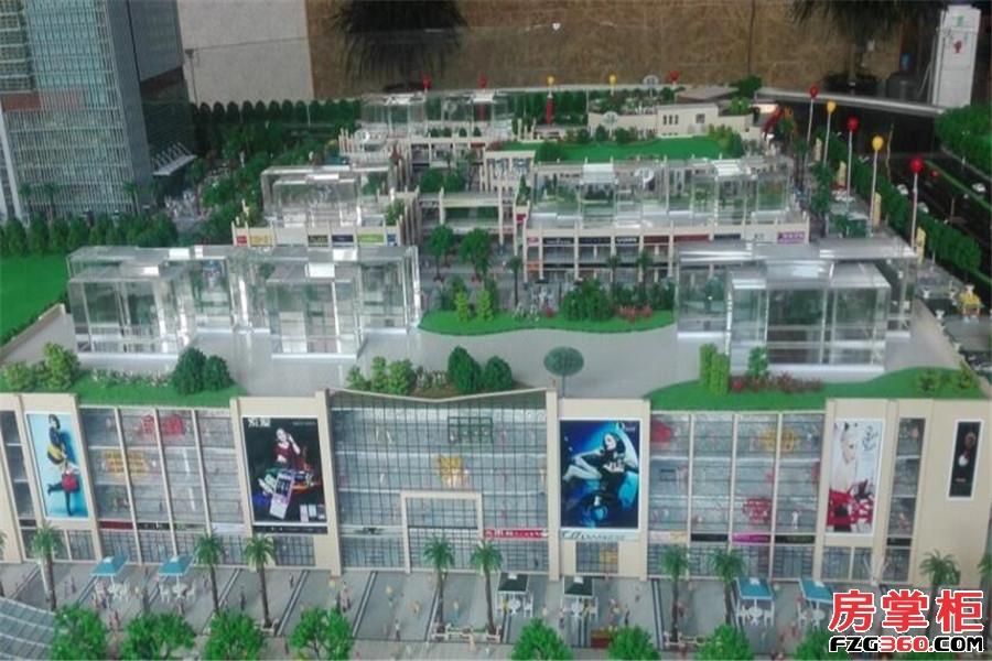 汇金时代广场实景图