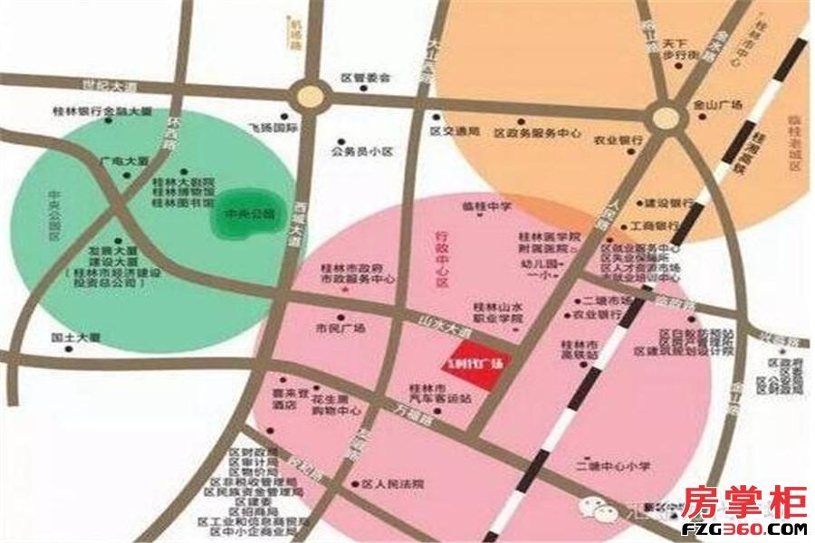 汇金时代广场效果图