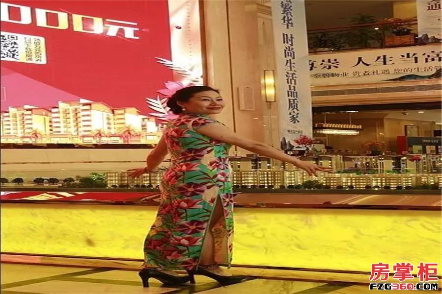 9月24日旗袍女神齐聚桂林恒大江湾