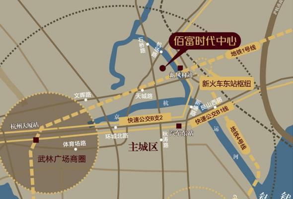佰富时代中心写字楼_杭州佰富时代中心写字楼_杭州房掌柜