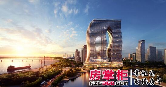 融创杭州印建筑外形效果图-融创杭州印打造高端商业综合体 配套优惠