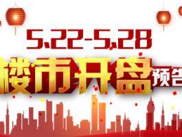 5.22--5.28杭州共有7盘开2盘为首开