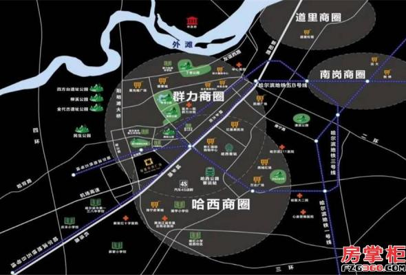 绿地中央广场二期_哈尔滨绿地中央广场二期_哈尔滨房掌柜
