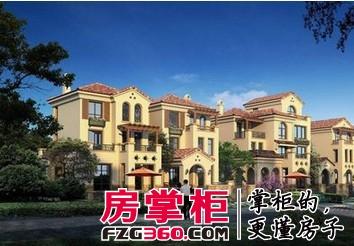 半島1號在售2期德式風格歌德島別墅 均價14000元/平