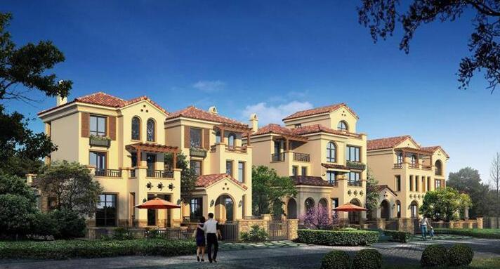 金科别墅1号在售b组团240-320别墅均价成交16000元上海魏玛半岛图片