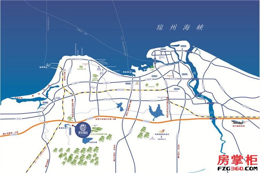 处于海南环岛高速4a级景区雷琼火山群世界地质公园入口仅2公里,行政