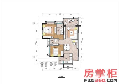 98平方房子设计图