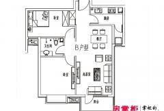 元阳隆城一期B户型