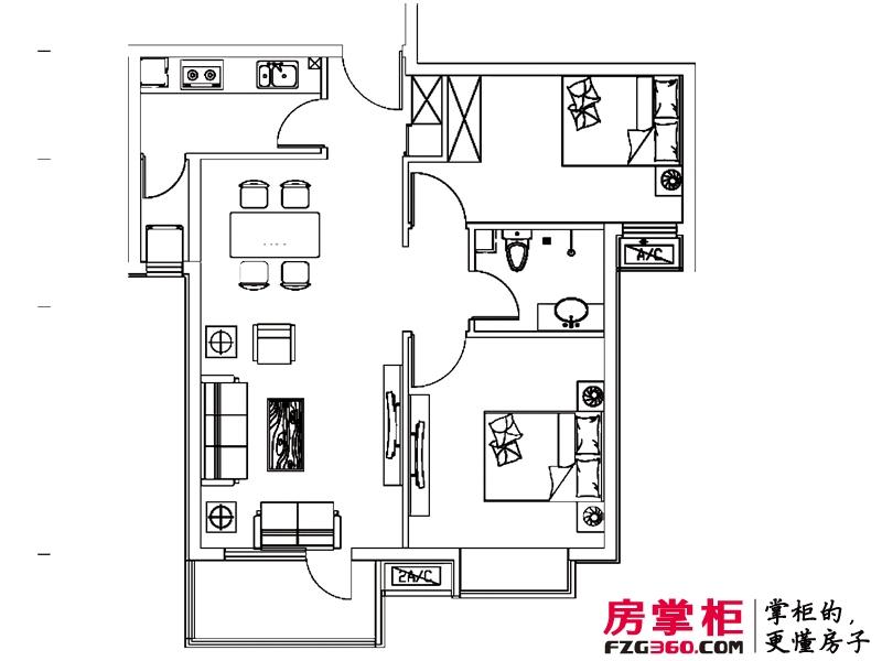 元阳隆城一期C户型