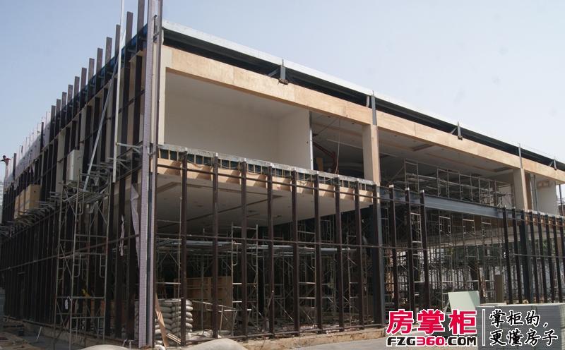 圣域蓝湾售楼部实景图(2014-05)
