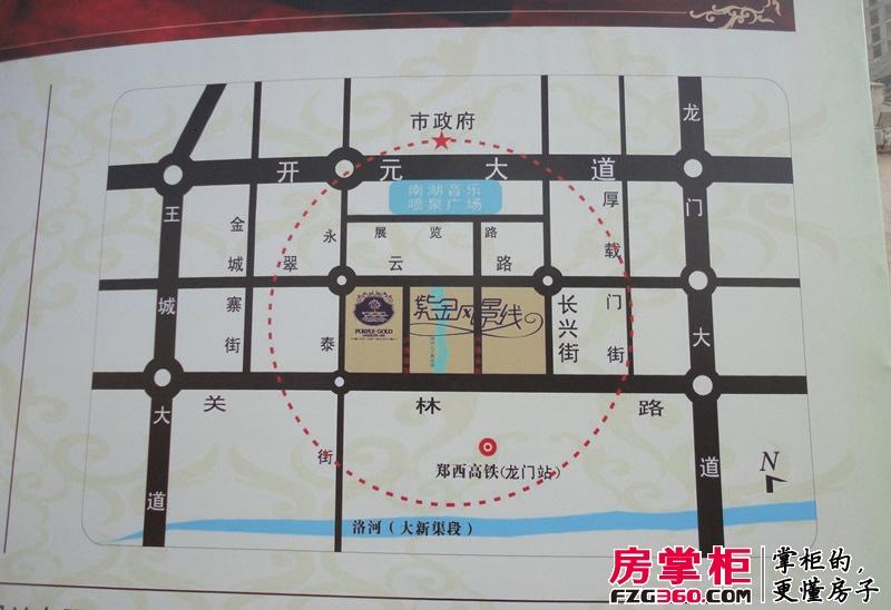 紫金风景线交通图