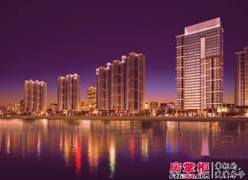 天明城夜景