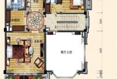 洛阳碧桂园一期G215户型二层 5室2厅6卫1厨