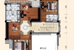洛阳碧桂园一期G216户型二层 6室2厅7卫1厨