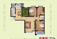 鼎盛国际A1户型(2014-02-25) 3室2厅2卫1厨