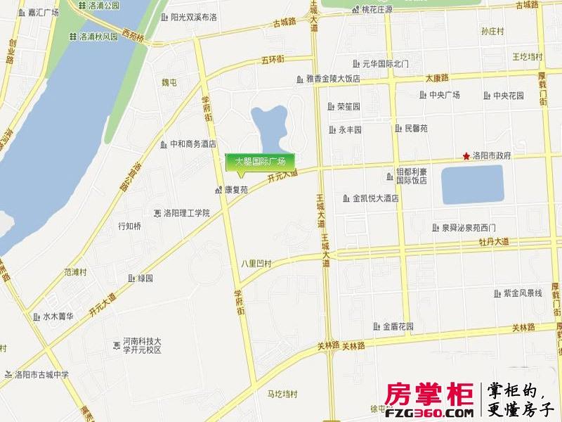 大曌国际广场电子地图