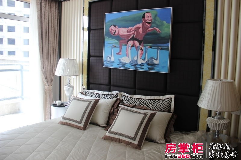 大曌国际广场2号楼B4户型86.14平米主卧室
