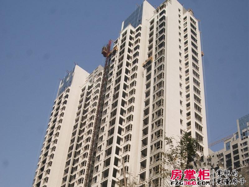 君河湾1期3#楼工程进度(2013-10-11)