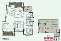 开元壹号A-2户型 3室2厅2卫1厨