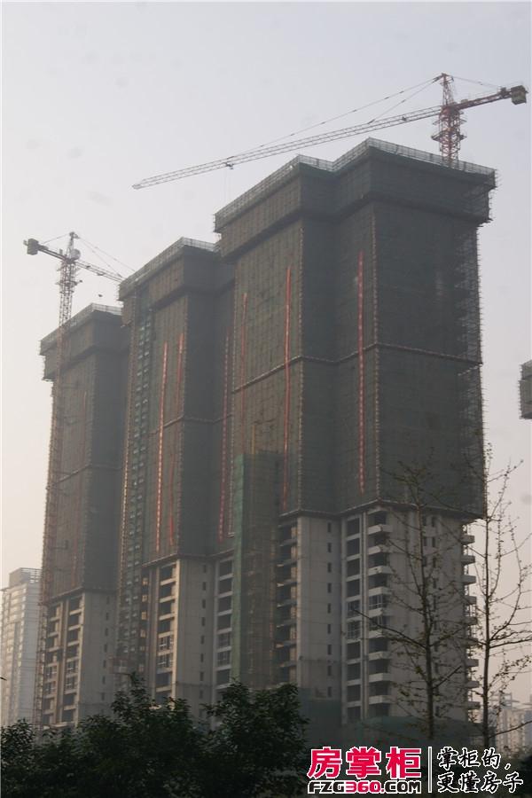 盛唐至尊1#项目进度(2014-11-19)