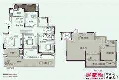 开元壹号B-1户型 3室2厅2卫1厨