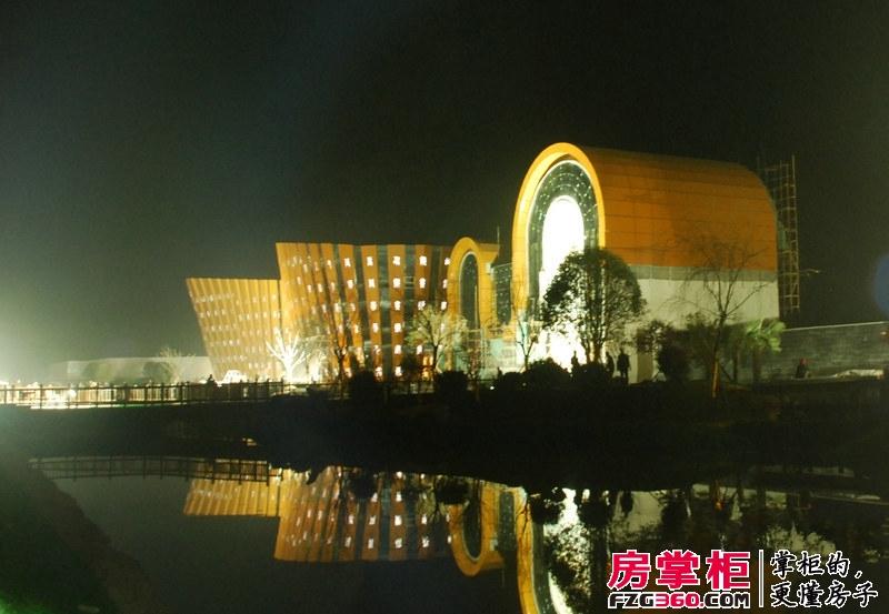 开元壹号实景夜景图(2012-11)